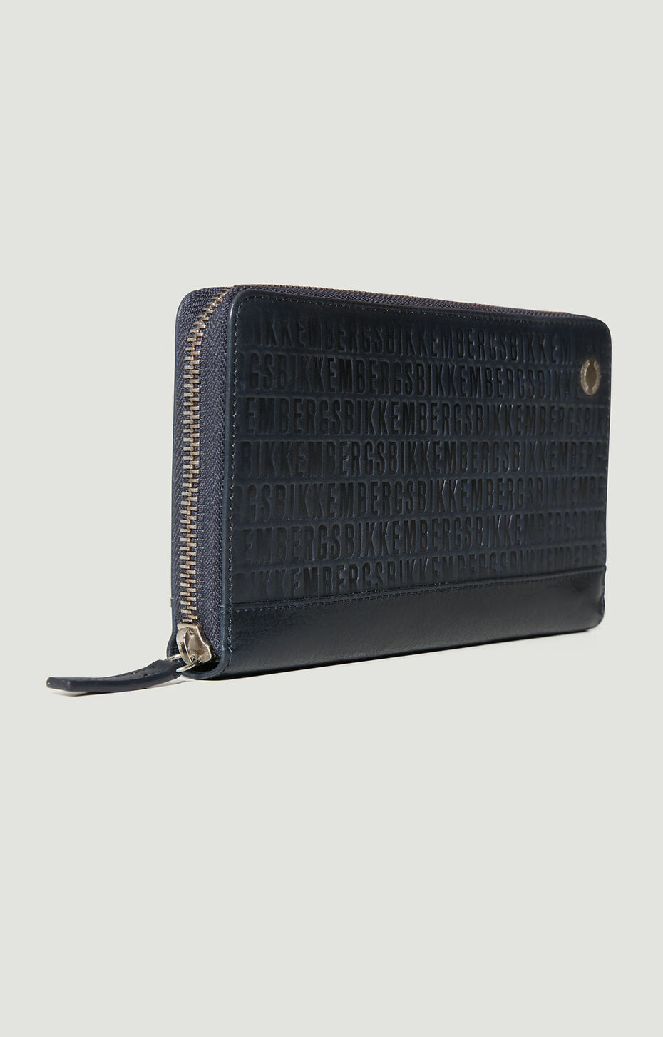 ZIPPED WALLET ALL OVER, Navy/Blue, hi-res-1