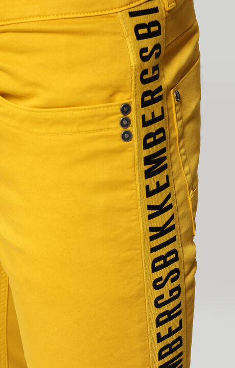 TROUSERS, Jaune, hi-res-1