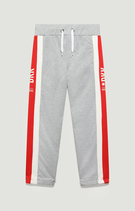 FLEECE TRACKSUIT, Grey Melange, hi-res-1