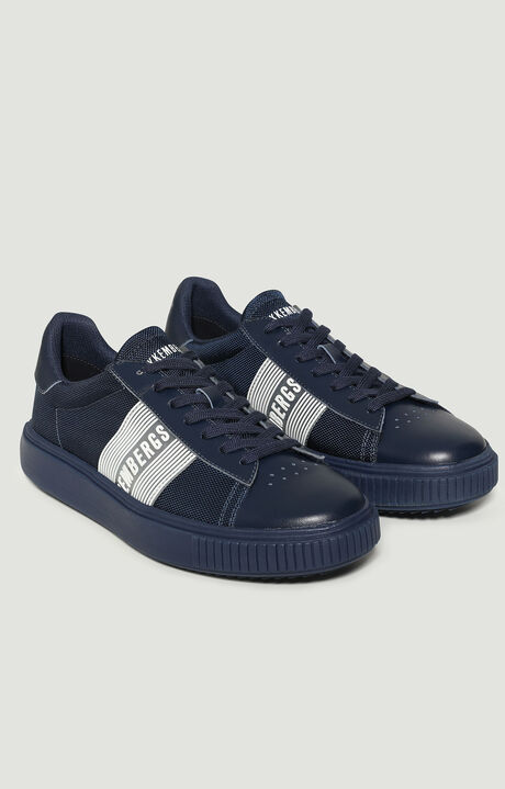 CESAN  -  LOW TOP LACE UP, Navy, hi-res-1