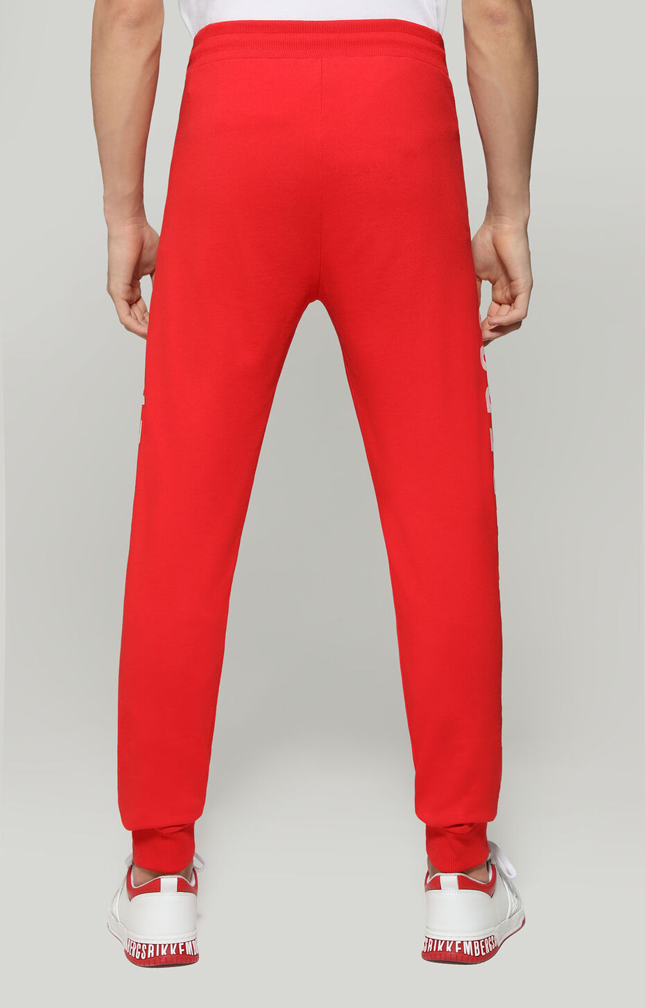 FLEECE PANTS, RED, hi-res-1