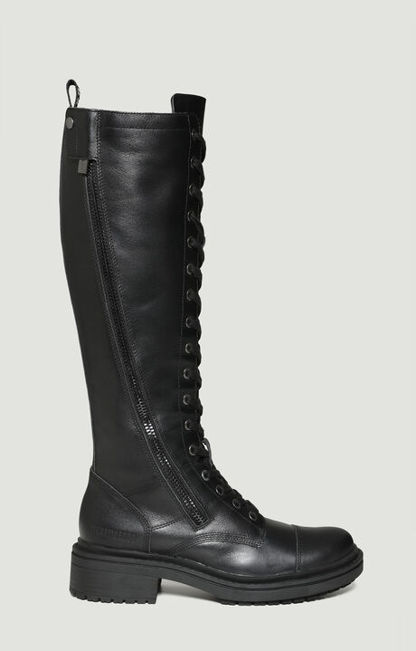 SAIDYA  -  ZIP BOOT, Black, hi-res-1