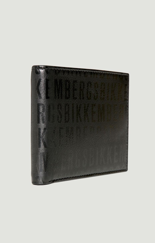 MINI BILLFOLD 5 C/C + COIN POCKET WRITE, Nero/Nero, hi-res-1