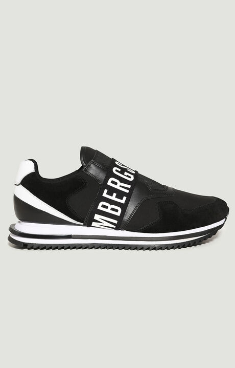 HALED  -  SLIP ON, Negro/Blanco, hi-res-1
