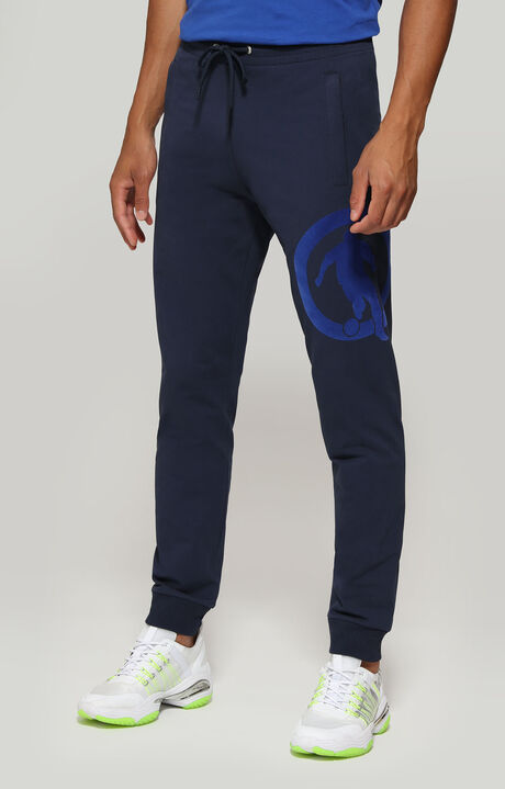 FLEECE PANTS, Bleu, hi-res-1