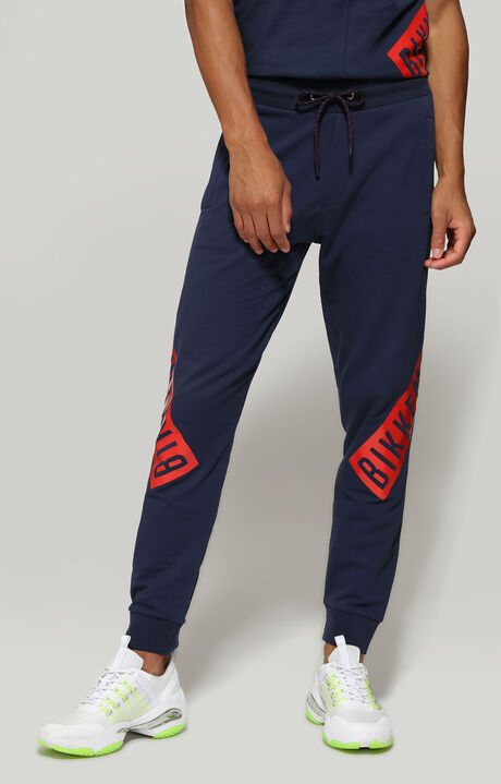 FLEECE PANTS, Blau, hi-res-1