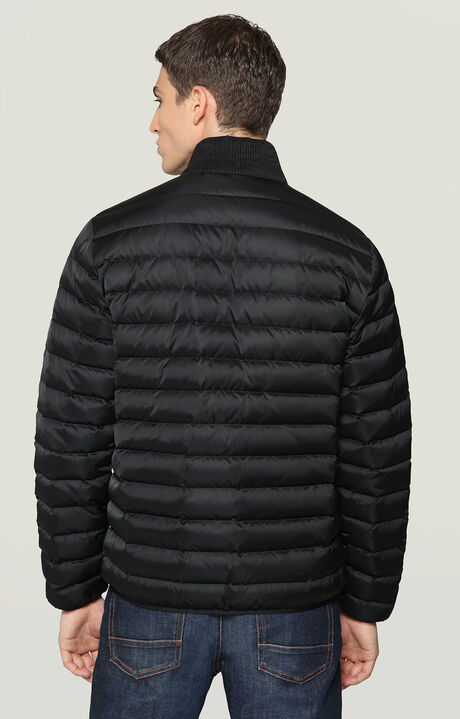 PADDED REVERSIBLE JACKET WITH LOGO, BLACK, hi-res-1