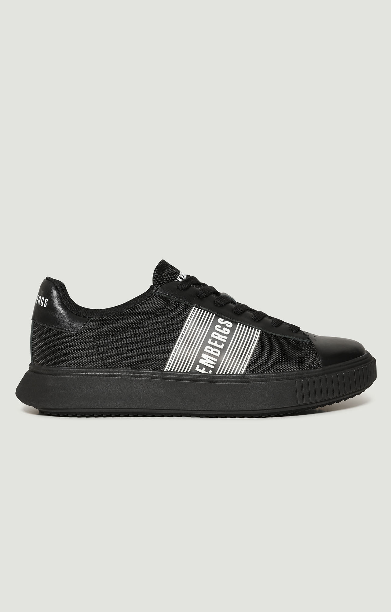 Deiven Men's Shoes (high top Trainers) In Black