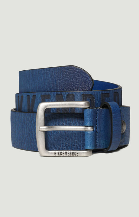 MAN BELT 4 CM, Blue, hi-res-1