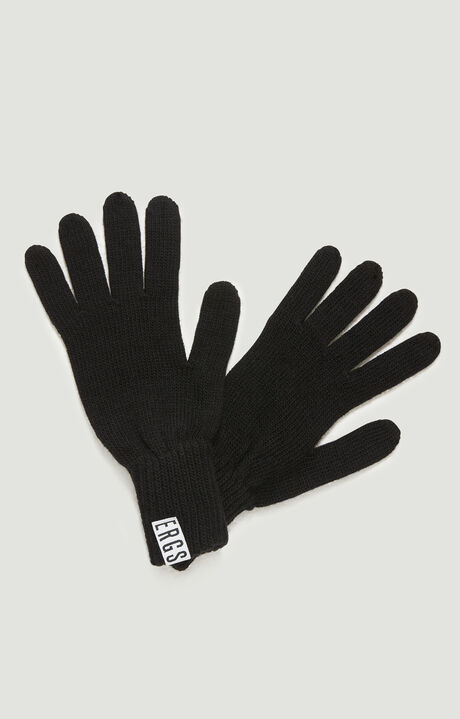 GLOVES, Black, hi-res-1