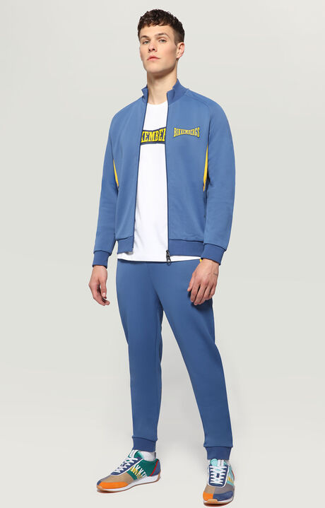 FLEECE PANTS(FELPA), BLUE, hi-res-1