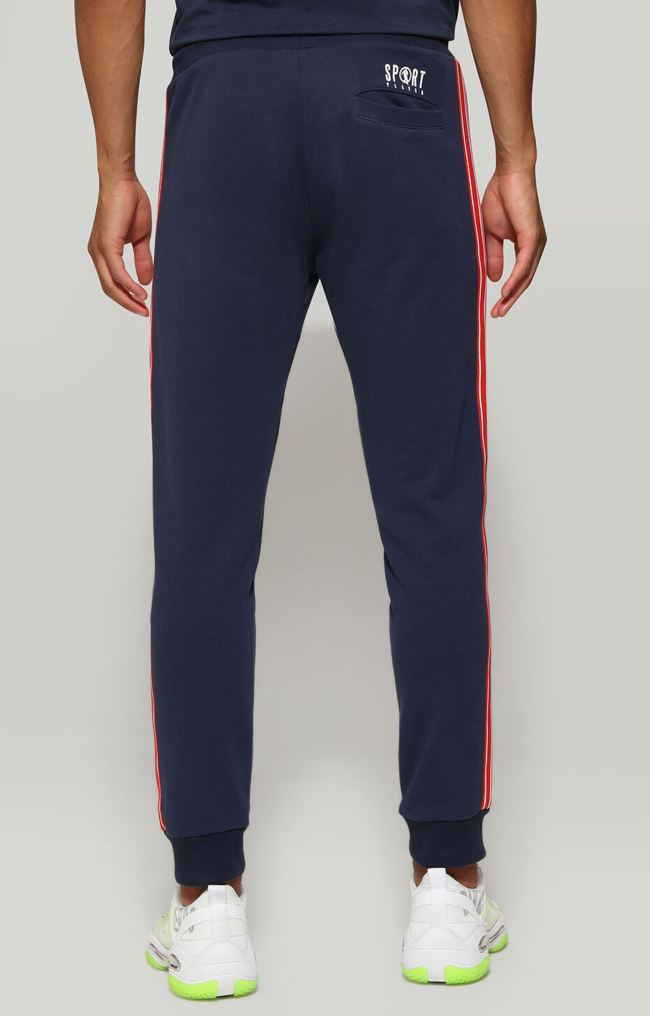 FLEECE PANTS, Синий, hi-res-1