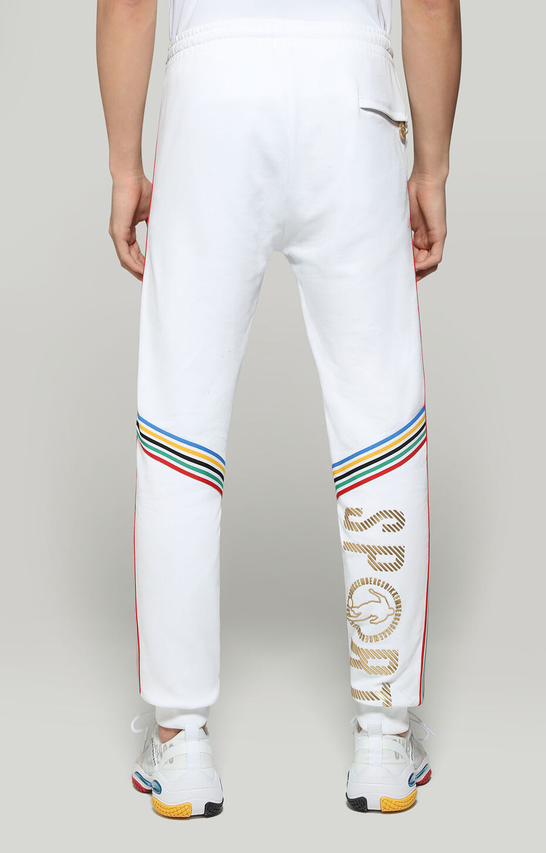 FLEECE PANTS, WHITE, hi-res-1