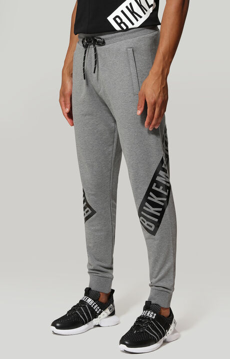 FLEECE PANTS, Grau Meliert, hi-res-1