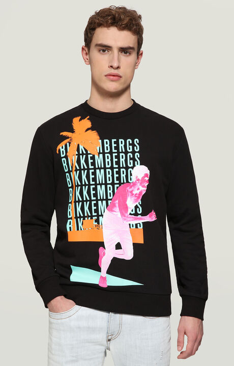 SWEATSHIRT, BLACK, hi-res-1