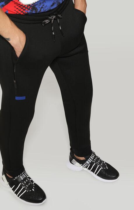 FLEECE PANTS, Noir, hi-res-1