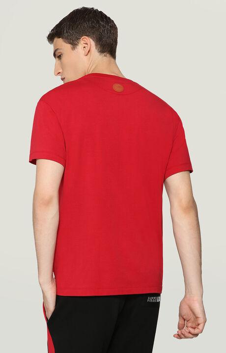 T-SHIRT, RED, hi-res-1