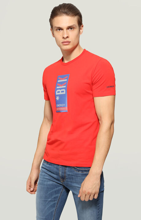 T-SHIRT, Red, hi-res-1