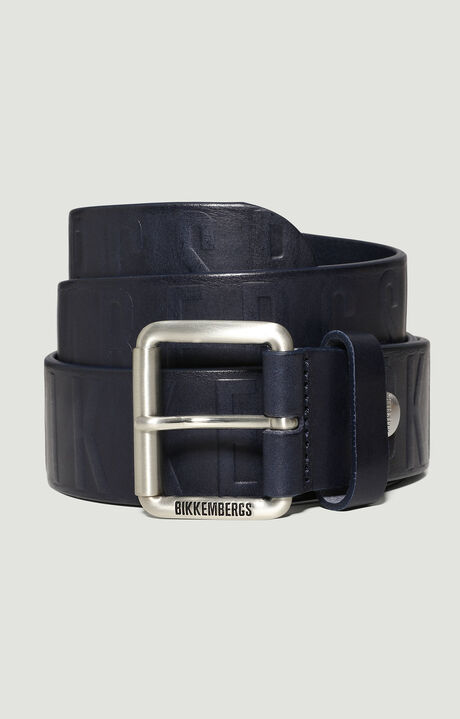 MAN BELT 4 CM, Navy/Blue, hi-res-1