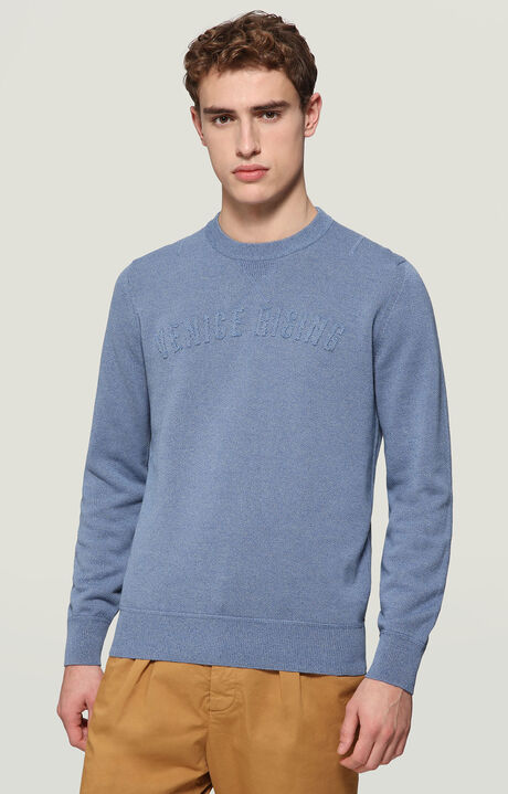 SWEATER, BLUE, hi-res-1