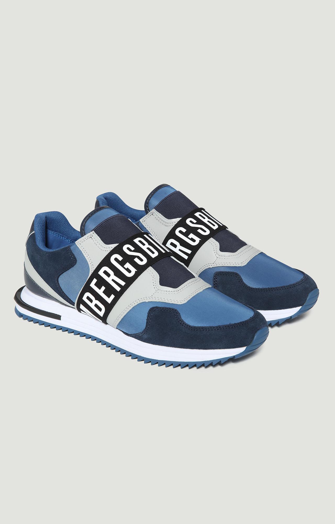 BIKKEMBERGS Haled Men/'s Sneakers Shoes Slip-ons in Black//White New